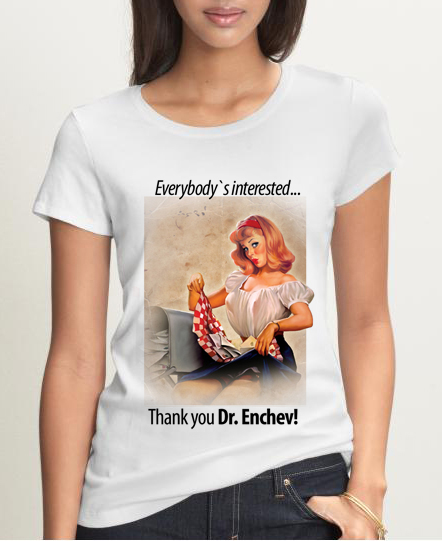 Everybody`s interested ... Thank you Dr. Enchev!